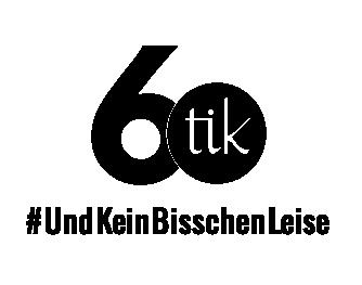 60 Jahre tik Logo